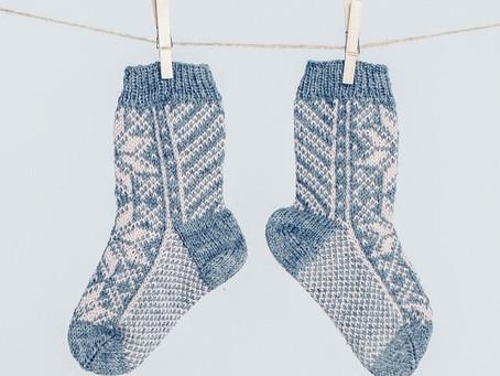 Selbu Sock - Lesson 3 Heel Flap