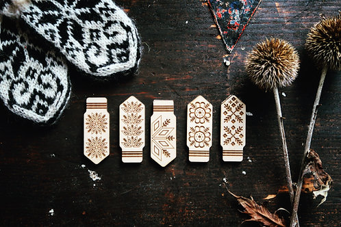 Traditional Selbu Brooches