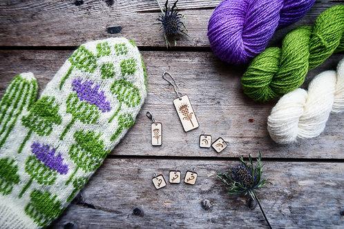 Melancholy Thistle Mitten Yarn Kit