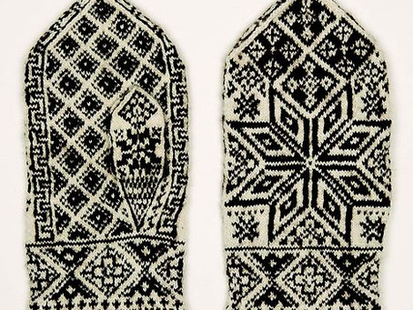 Advanced Selbuvotter - Wedding Mittens for Jacob Næss