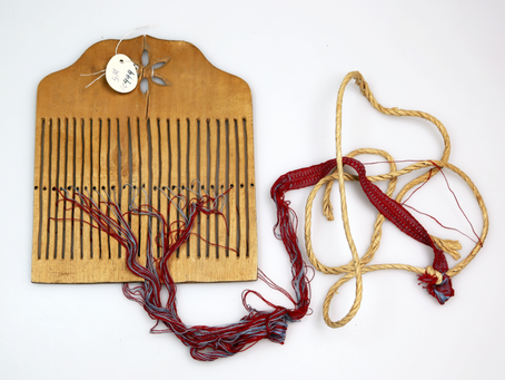 Bandweaving - Thinking and planning to weave Band #4 + Lesson Information