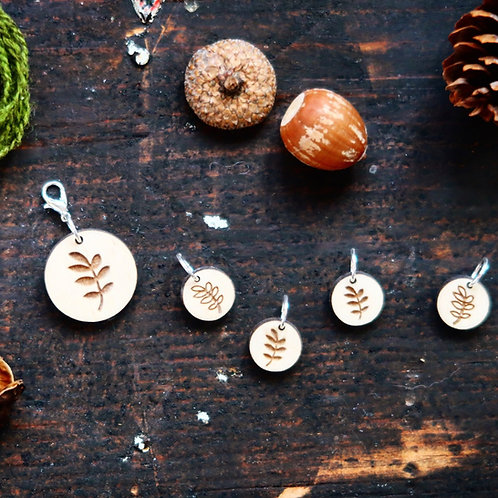 Forest Path Stitch Marker Set