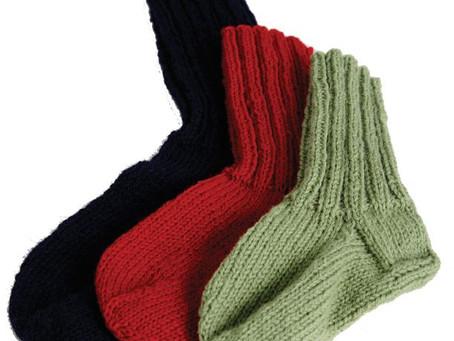 Another pattern gift for you - Farmor's Raggsokker for Children