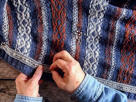 Kofte Course - Hand Sewing Traditional Woollen Ribbons - Part 1