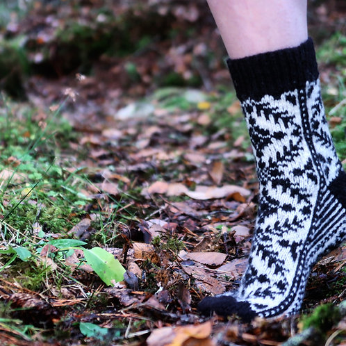 Selbu Sock Design 2