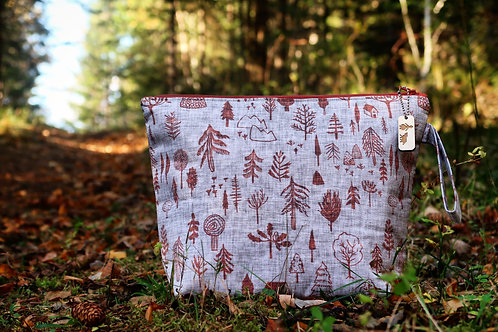 Forest Path Collection Project Bags