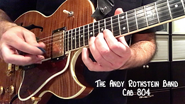 The Andy Rothstein Band: Cab 804