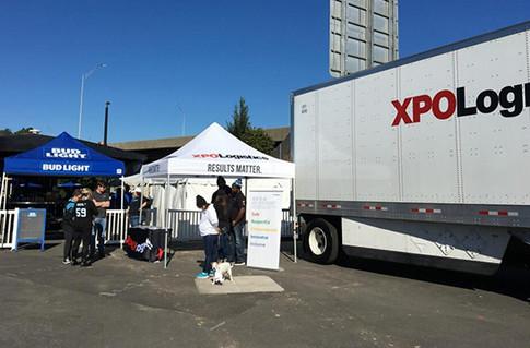 XPO Logistics Tent