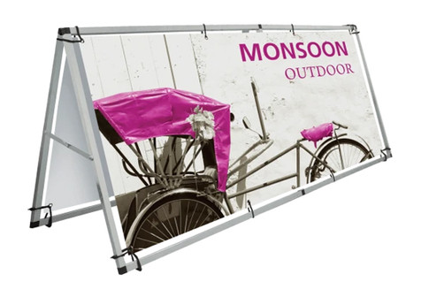 Lighthouse Exhibits Monsoon Sign