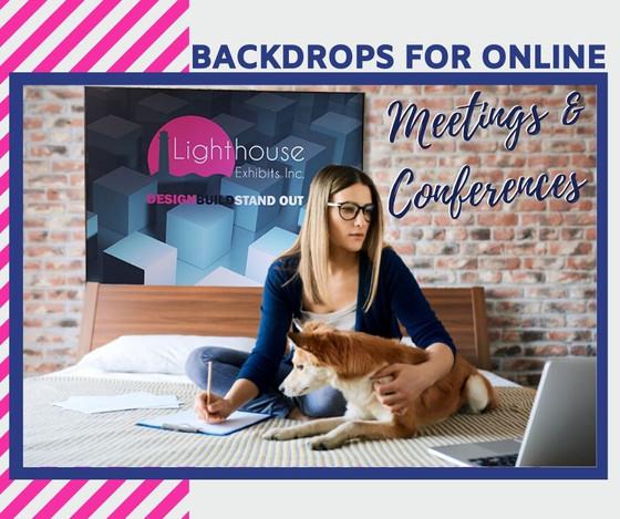 Backdrop Ideas For Your Virtual Trade Show