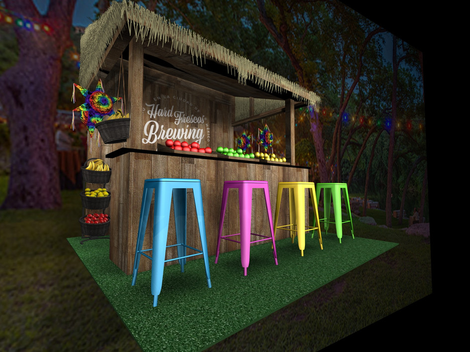Tiki Bar Environment