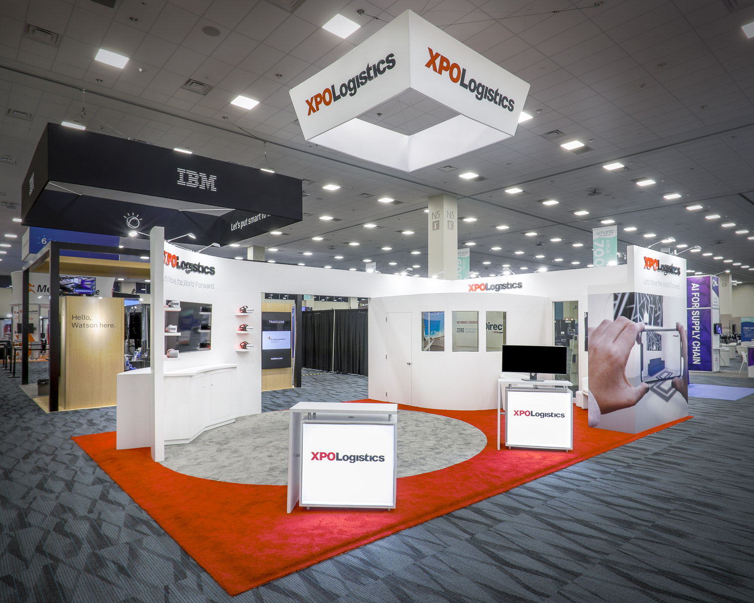 Lighthouse Exhibits XPO Logistics