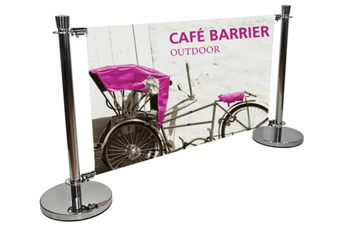 Lighthouse Exhibits Cafe Barrier