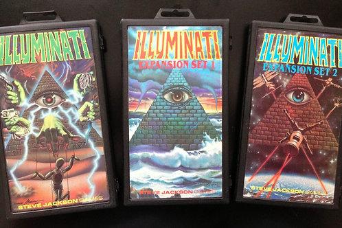Jogo De Cartas Illuminati N.w.o (INGLES ORIGINAL) + 2 EXTENSÕES