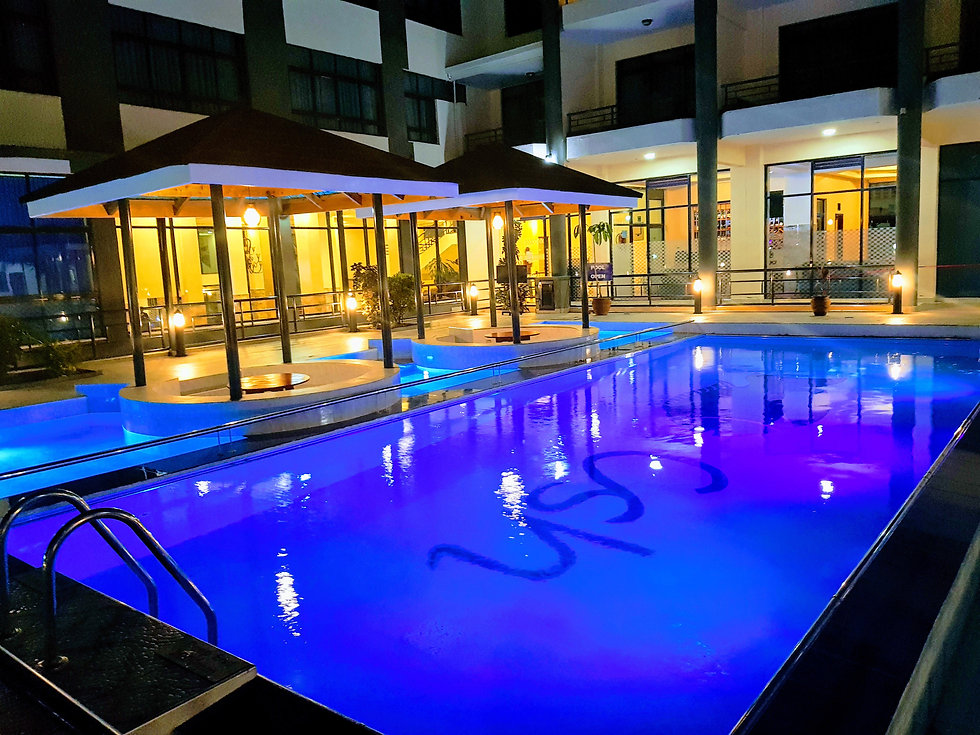 Pool side Gazebos
