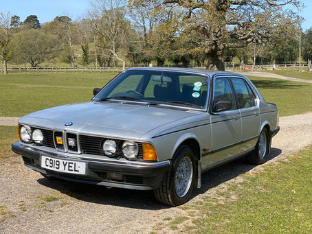 BMW 735i SE E23 1986