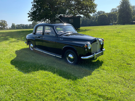 Rover P4 90 1958 Two Owners