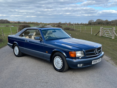 Mercedes 560 SEC C126 Coupe