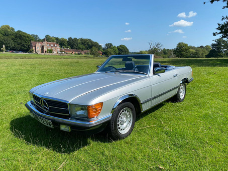 Mercedes 280SL Only 52,000 Miles