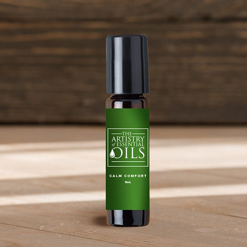Calm Comfort Rollerball Blend - Bergamot, Sandalwood, Neroli Essential Oils