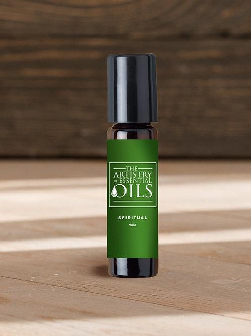 Spiritual Rollerball Blend - Sandalwood, Neroli, Cypress Essential Oils