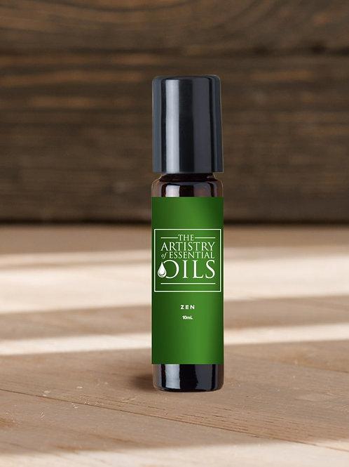 Zen Rollerball Blend -      Ylang Ylang, Lavender Essential Oils
