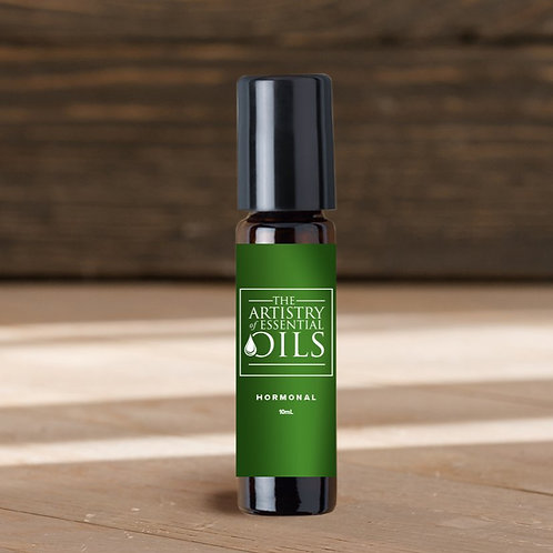 Hormonal Balance Rollerball Blend -Rosemary, Geranium, Clary Sage Essential Oils
