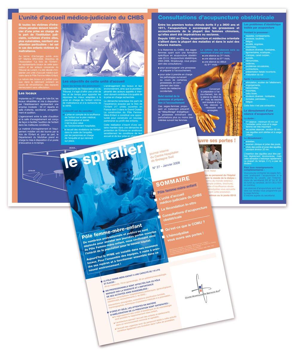 Journal interne hôpital CHBS Lorient