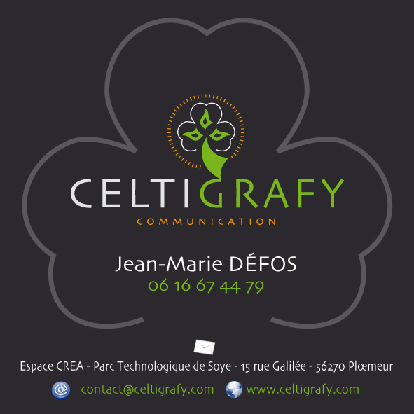 Carte visite Celti Grafy