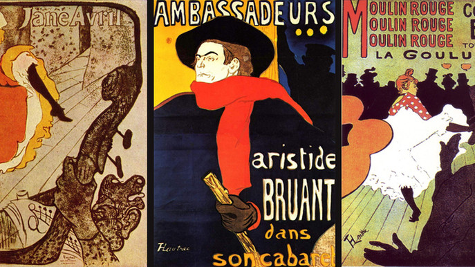 Lautrec, inventeur de l'affiche moderne