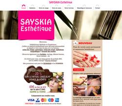 Site Sayskia Esthétique