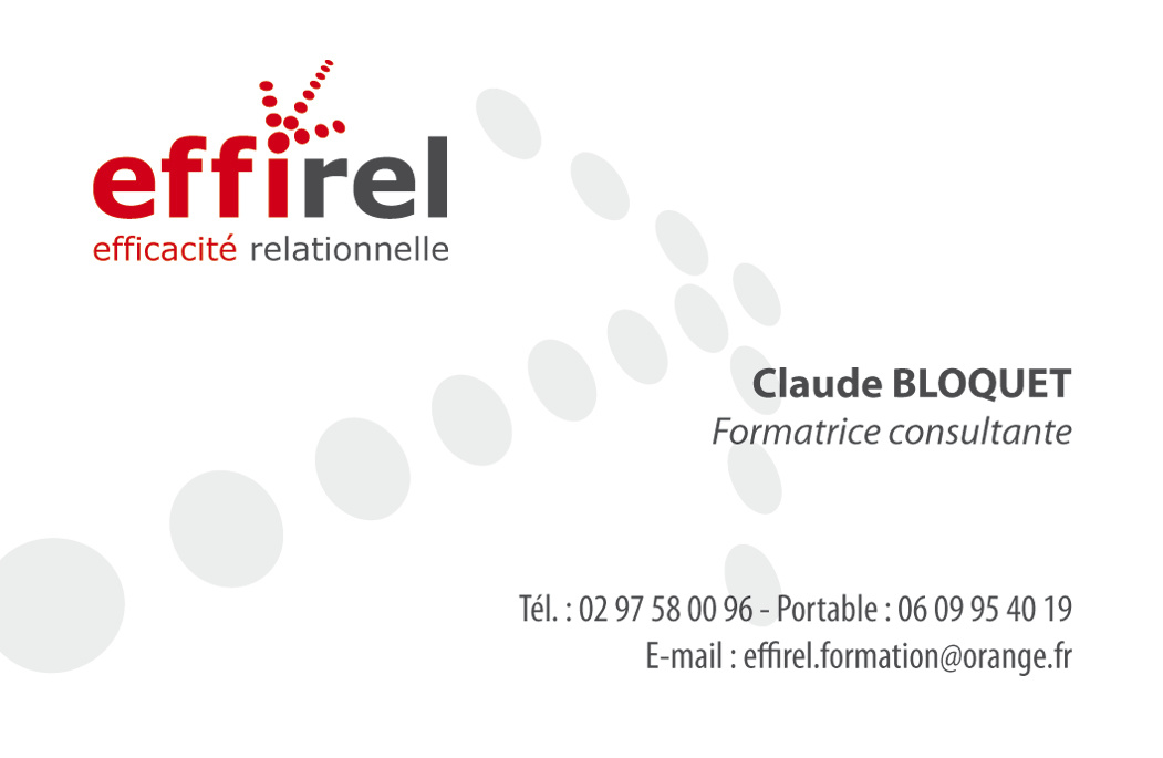 Carte de visite effirel