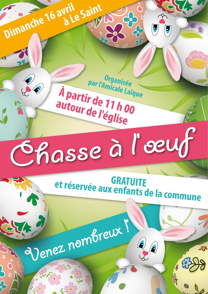 Affiche pour Pâques