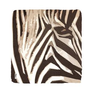 Zebra - 80 x 80 cm