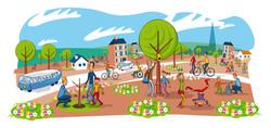 Illustration  ville de Plœmeur