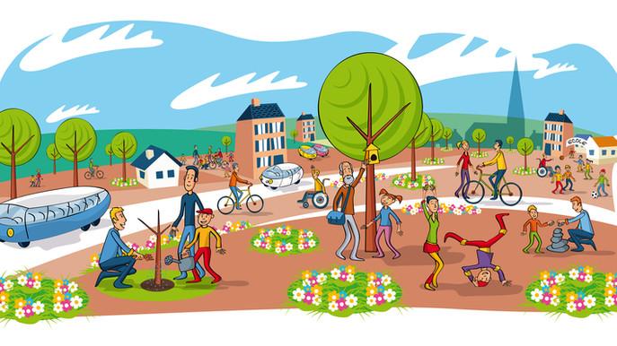 Illustration pour la ville de Plœmeur
