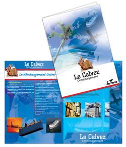 Plaquette-chemise Le Calvez