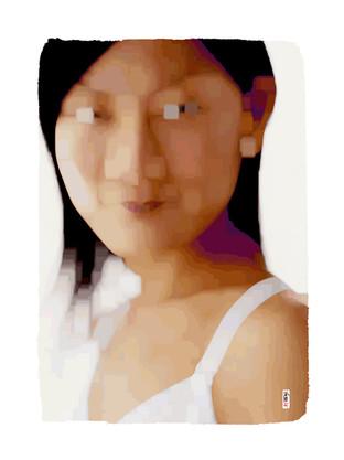 Asia 2 - 120 x 90 cm