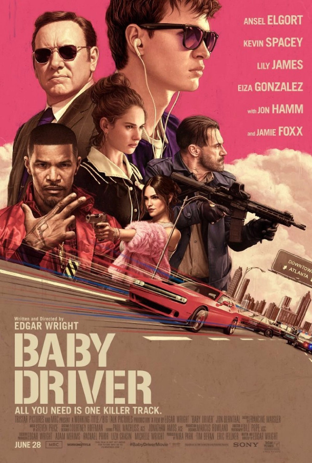 Edgar Wright's BABY DRIVER