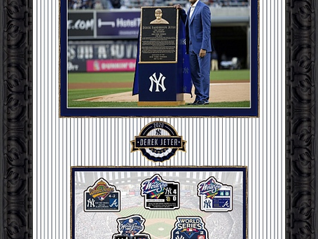 Ways to preserve your special moments like this Derek Jeter Frame