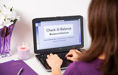 Check and Balance Business Solutions business values