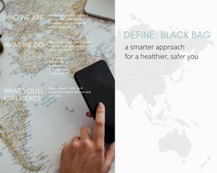 Black Bag Vision Board
