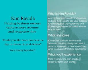 Kim Ravida Vision Board