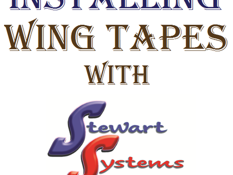 How to Apply Wing Finishing Tape on Fabric Covered Aircraft