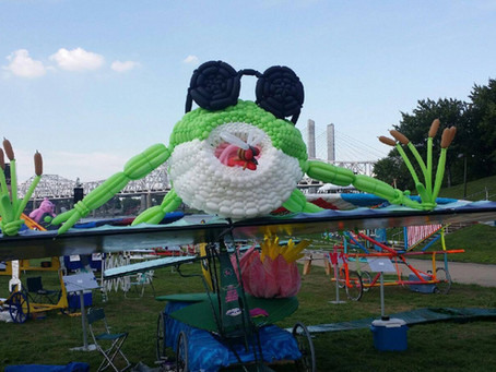 Flugtag Frogeyes at the Red Bull Flugtag Louisville 2016