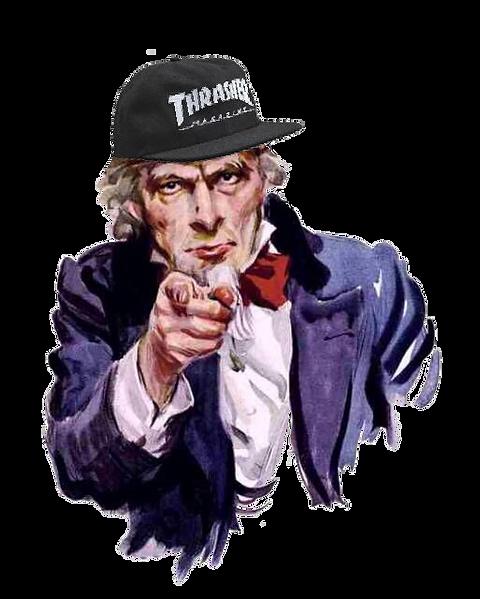 uncle sam skate thrasher triangle skateboard alliance skate riot skateriot skatriotic