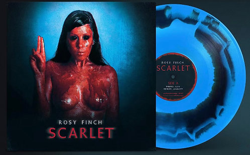 Rosy Finch, Vinilo Azul, Scarlet