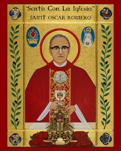 Saint Oscar Romero Icon