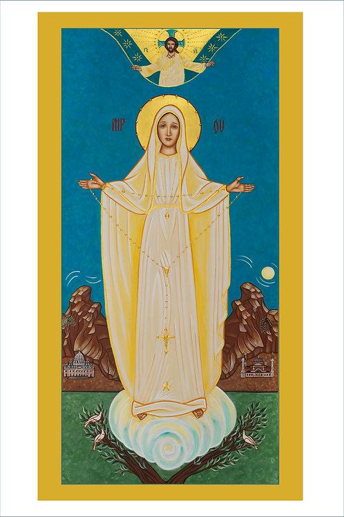 Virgin Pilgrim Icon of Our Lady of Fatima