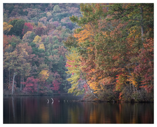 Fall, Lake Petit, Big Canoe, Georgia